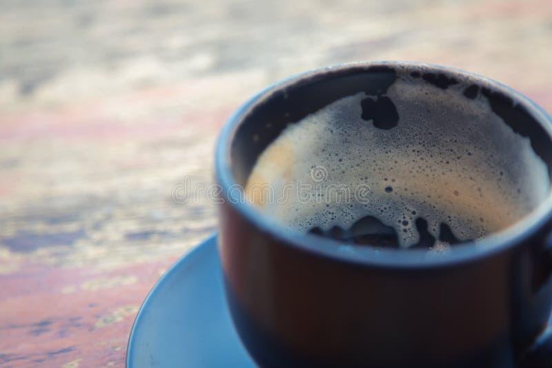 Chávena de café vazia foto de stock