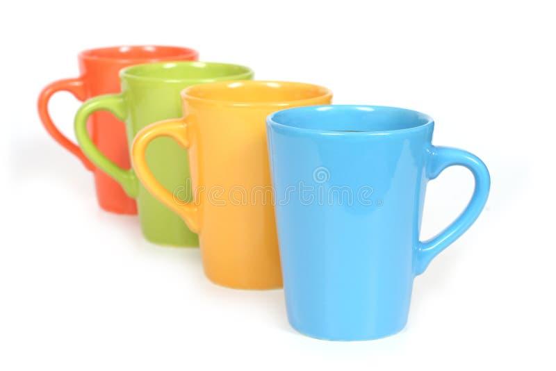 Chávenas de café imagens de stock royalty free
