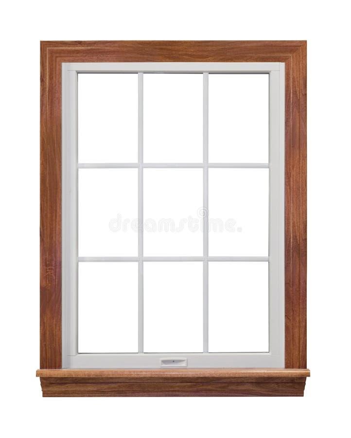 Châssis de fenêtre contemporain photographie stock libre de droits