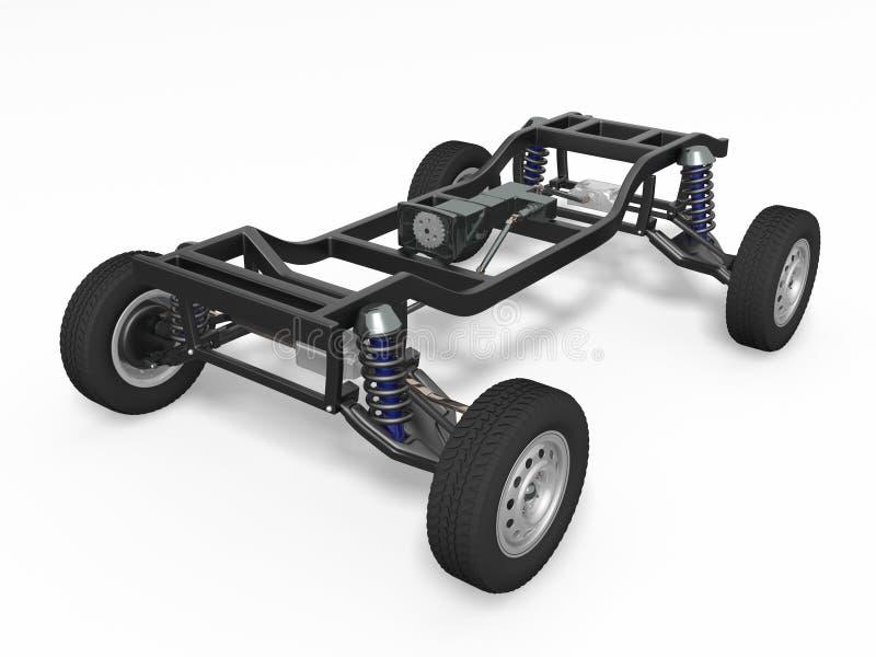 Châssis de voiture images libres de droits