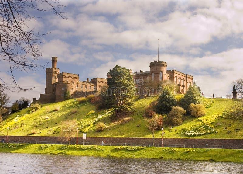 Château à Inverness photo stock