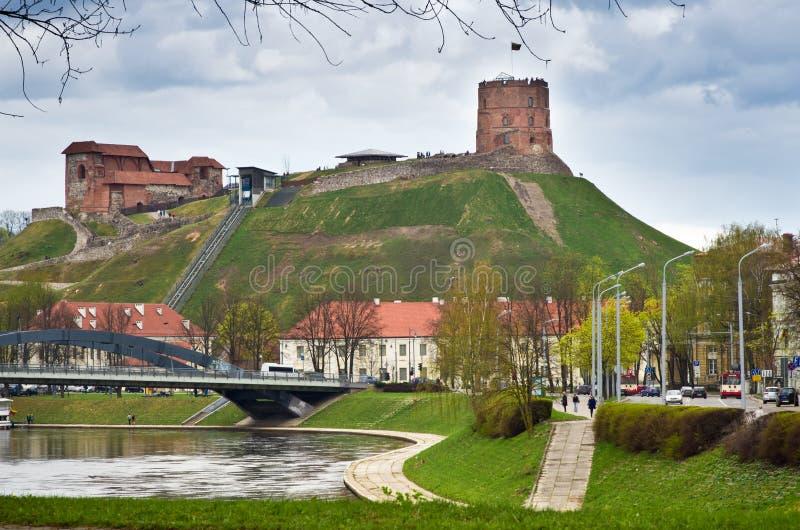 Château à Vilnius images libres de droits