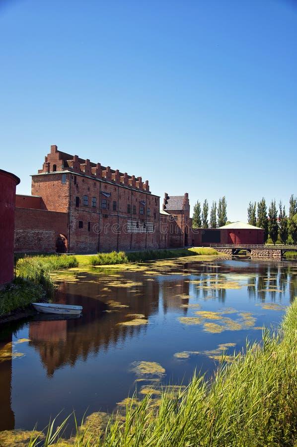 Château 01 de Malmohus photos libres de droits