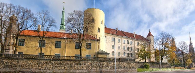 Château 01 de Riga image libre de droits