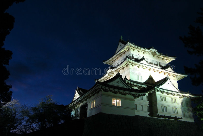Château 02, Japon d'Odawara photographie stock libre de droits