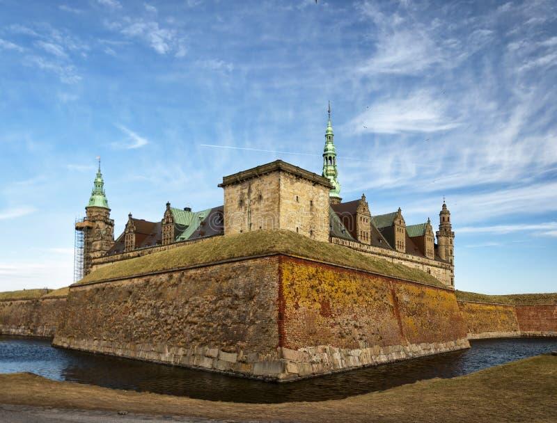Château 06 de Kronborg image libre de droits