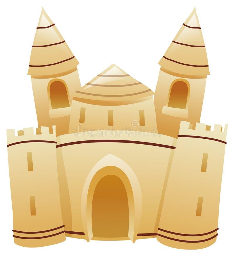château illustration de vecteur