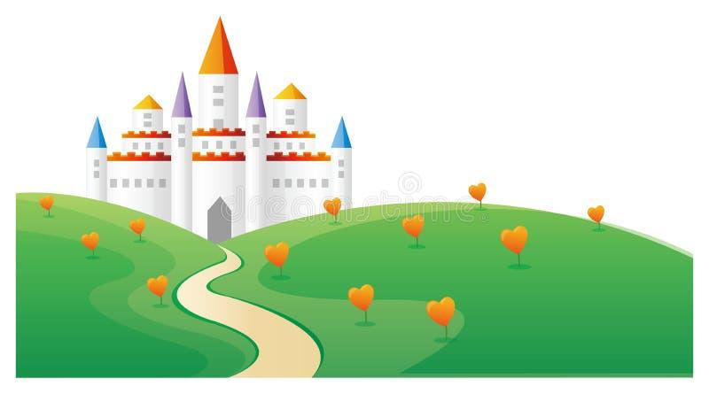 Château illustration libre de droits