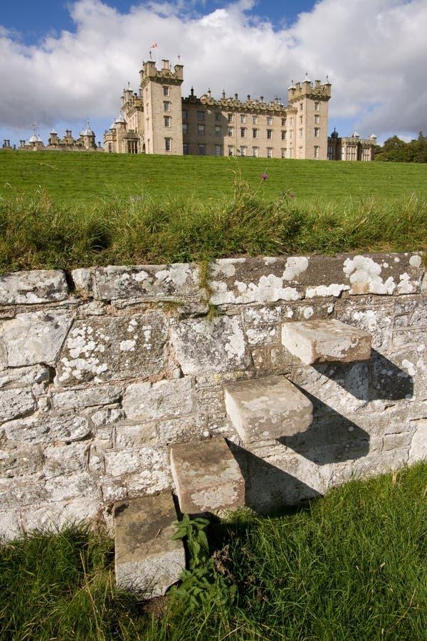 Château 2 d'étages image libre de droits