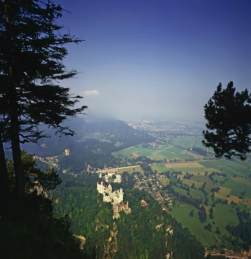 Château allemand photo stock