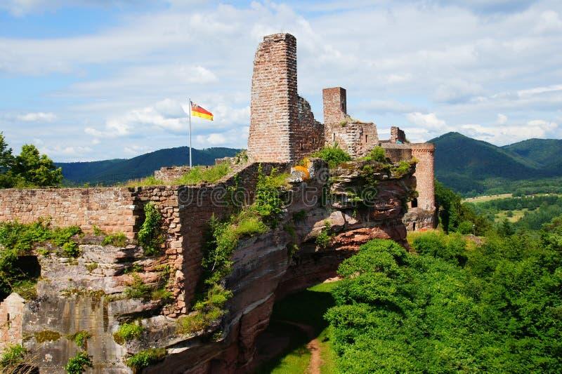 Château Altdahn images libres de droits