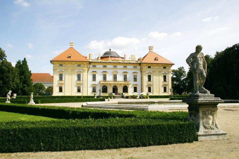 Château Austerlitz photographie stock libre de droits