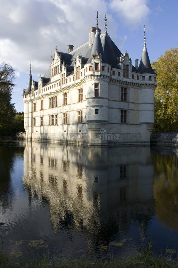 château azay France le rideau images libres de droits