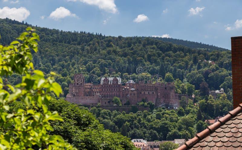 Château Baden-Wurttemberg Allemagne d'Heidelberg photo stock