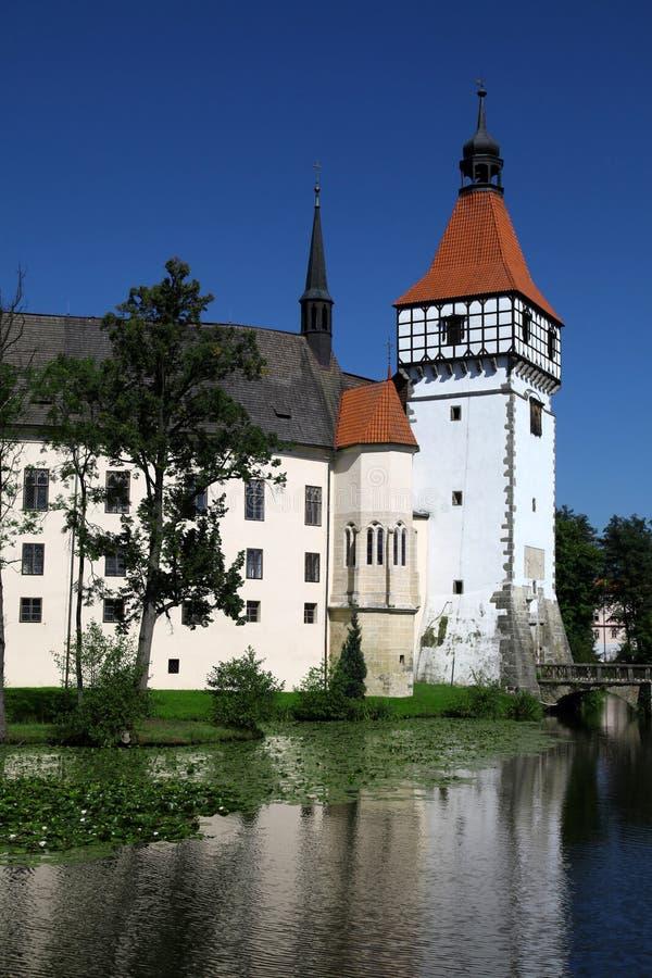 Château Blatna dans la République Tchèque images libres de droits