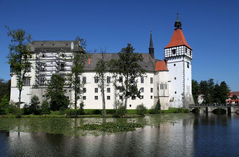 Château Blatna dans la République Tchèque image stock