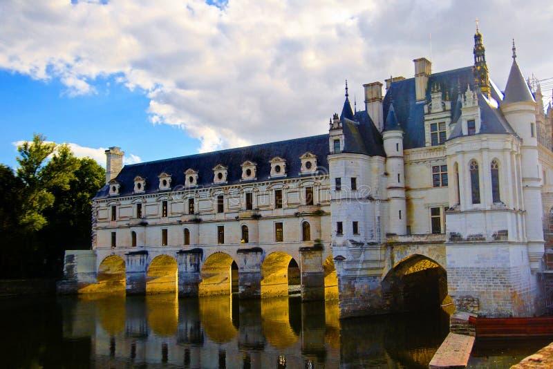 Château Chenonceau, le Val de Loire, France images libres de droits
