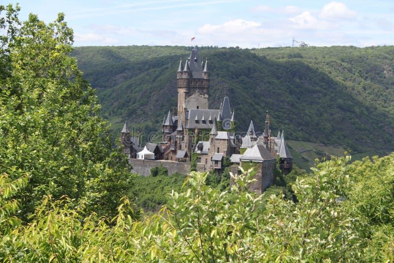 Château Cochem de Reichsburg photo stock