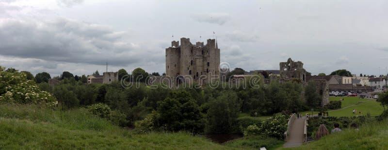 Château d'équilibre en forme, l'Irlande images libres de droits