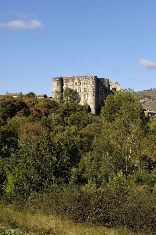 Château d'Alba la Romaine, le Rhône-Alpes, Ardeche, France photos stock