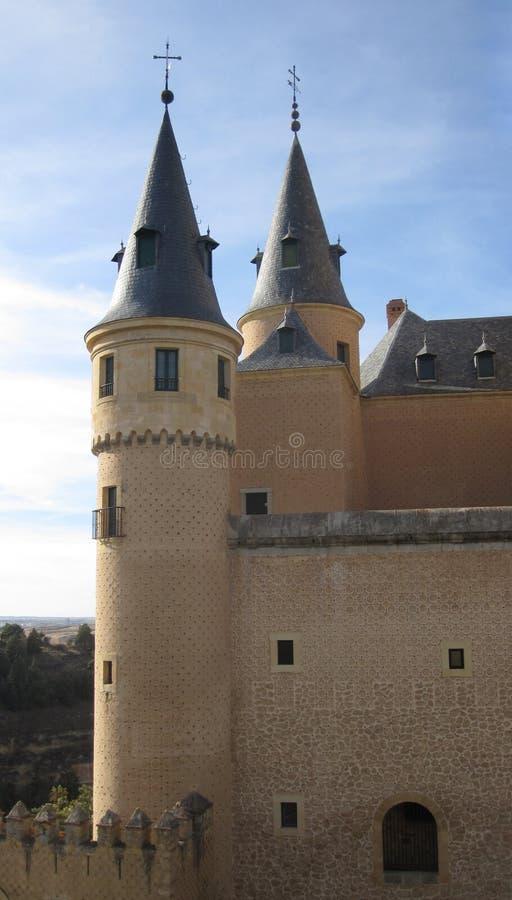 Château d'Alcazar photo stock