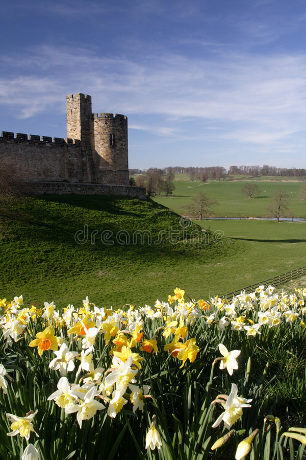 Château d'Alnwick photos stock