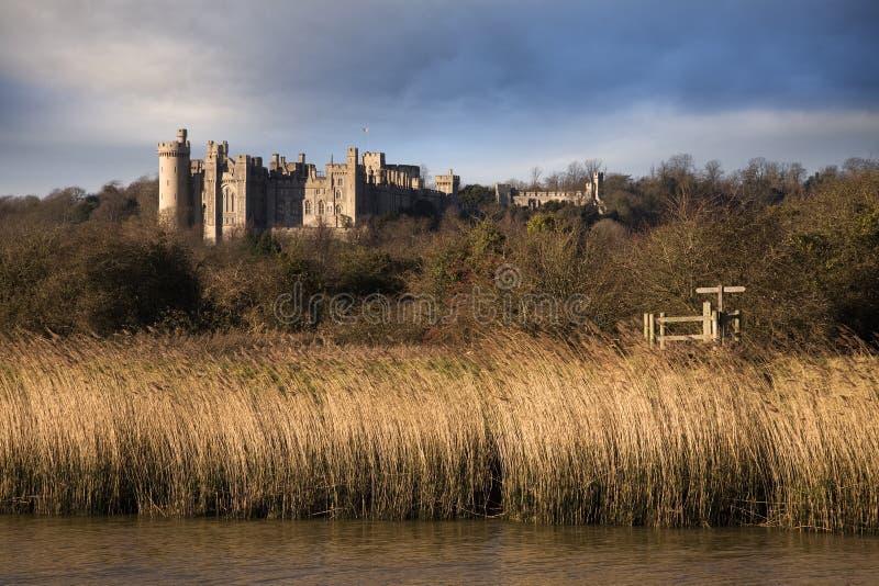 Château d'Arundel image stock