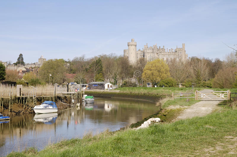 Château d'Arundel. Le Sussex occidental. LE R-U image stock