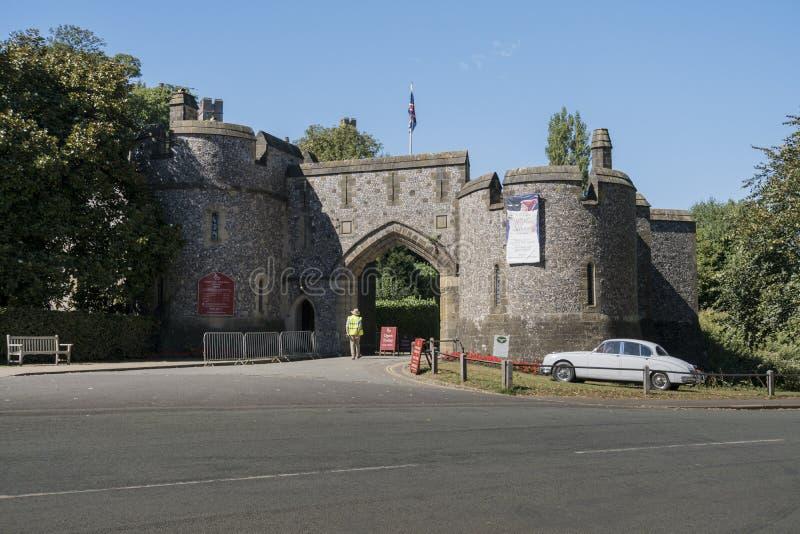 Château d'Arundel, le Sussex occidental, R-U image libre de droits