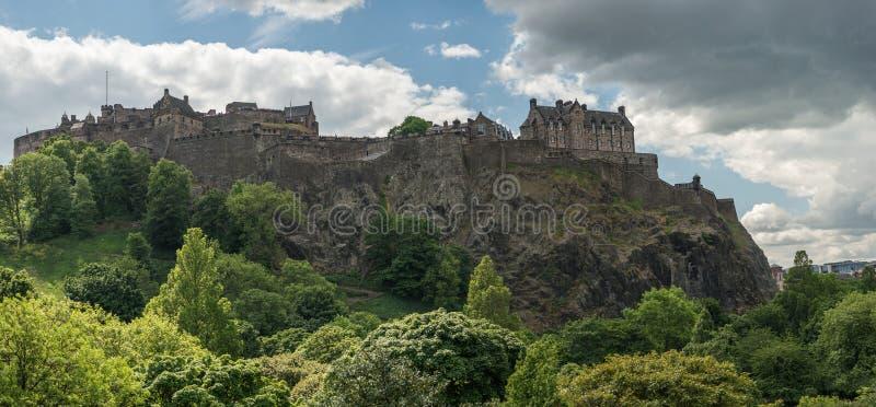 Château d'Edimbourg, Edimbourg, histoire écossaise photos stock