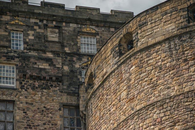 Château d'Edimbourg, Edimbourg, histoire écossaise images stock