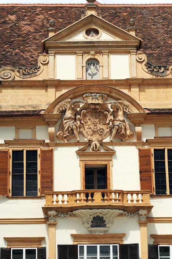Château d'Eggenberg à Graz image stock