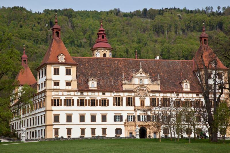 Château d'Eggenberg à Graz, Autriche photographie stock