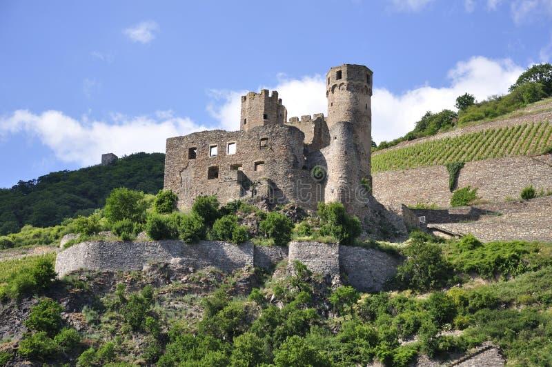Château d'Ehrenfels images libres de droits