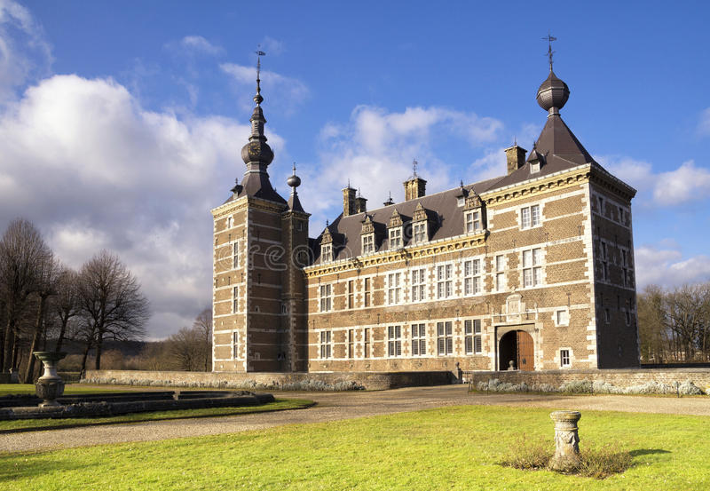 Château d'Eijsden image stock