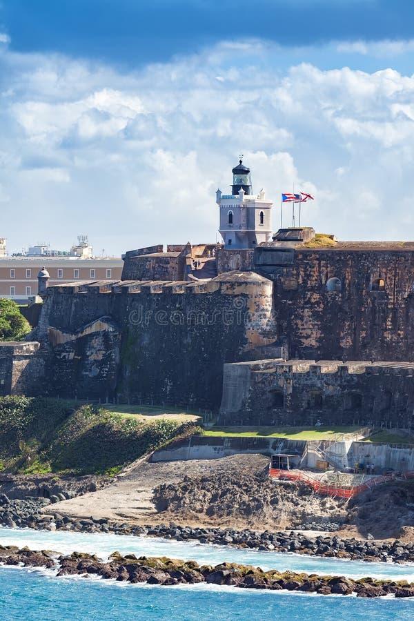 Château d'EL Morro photos stock