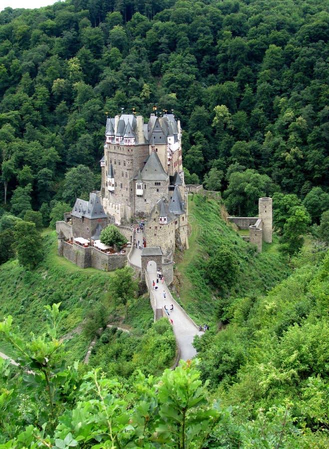 Château d'Eltz de Burg photo stock