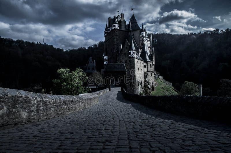 Château d'Eltz de Burg dans Wierschem, Allemagne image libre de droits