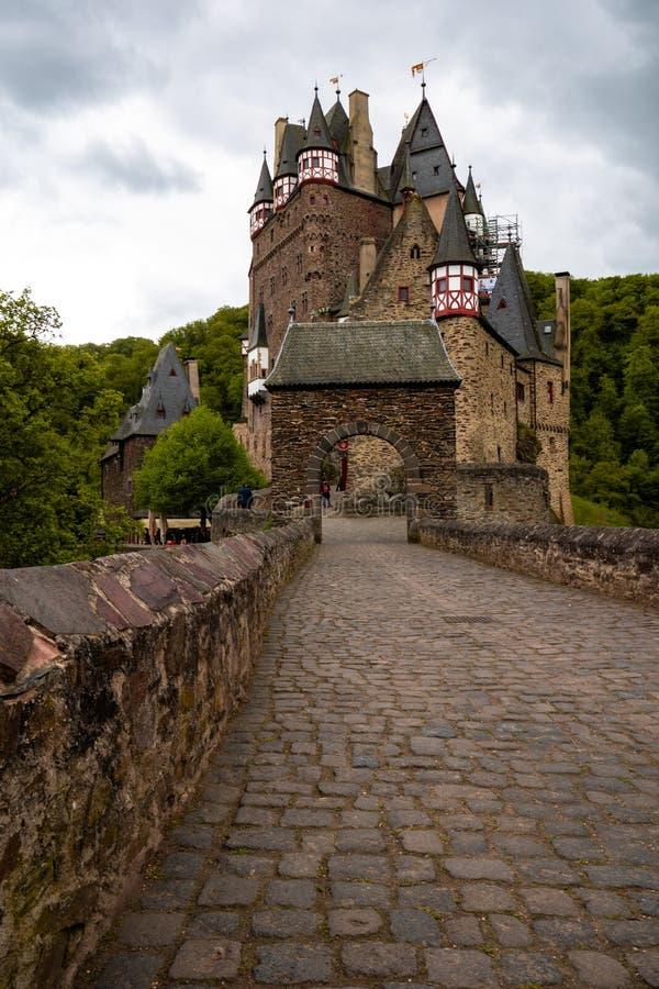 Château d'Eltz de Burg en Allemagne image libre de droits