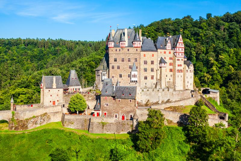 Château d'Eltz près de Coblence, Allemagne photographie stock libre de droits