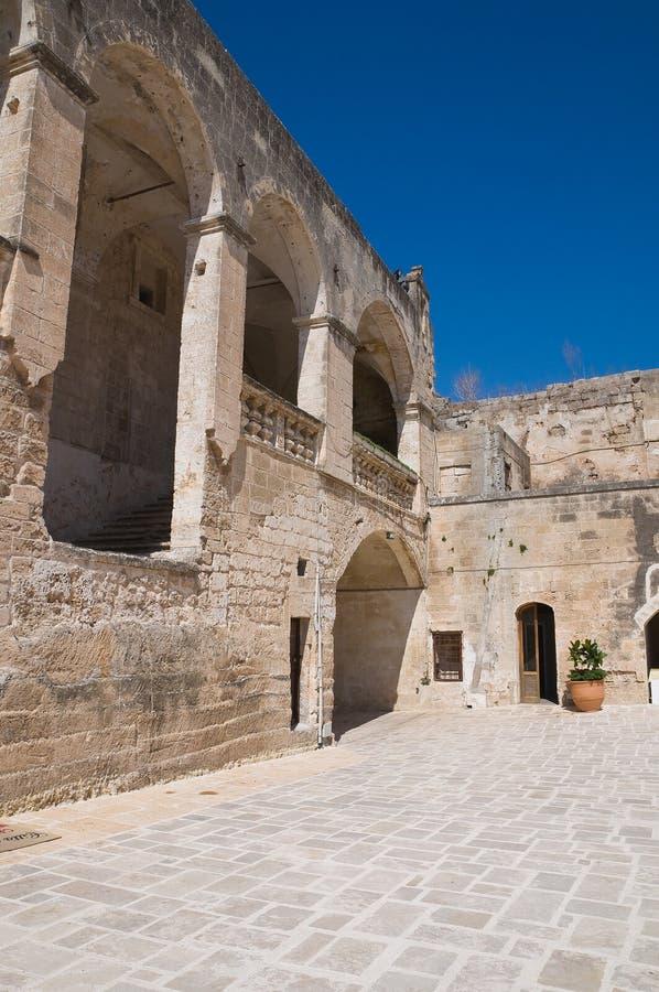 Château d'Episcopio. Grottaglie. La Puglia. l'Italie. photos libres de droits