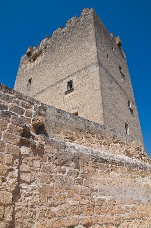 Château d'Episcopio. Grottaglie. La Puglia. l'Italie. photos stock