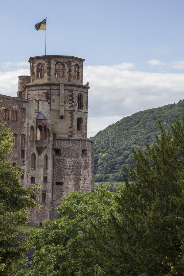 Château d'Heidelberg images stock