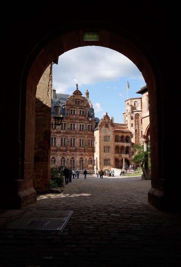 Château d'Heidelberg, Allemagne image stock