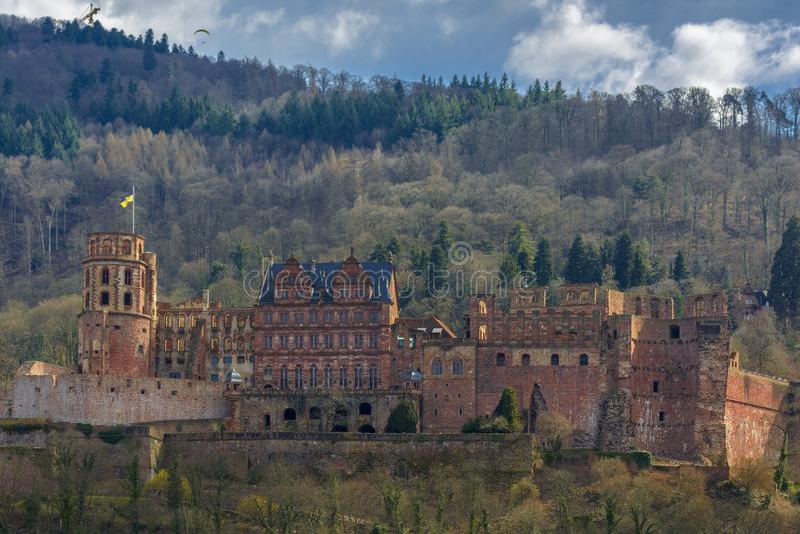 Château d'Heidelberg, Baden-Wurttemberg, Allemagne photos libres de droits