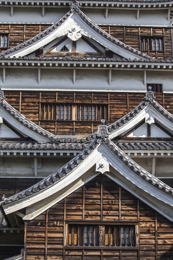 Château d'Hiroshima. Japon images libres de droits