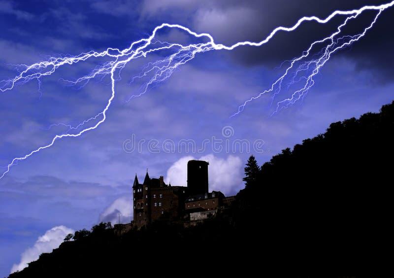 Château d'horreur photos libres de droits