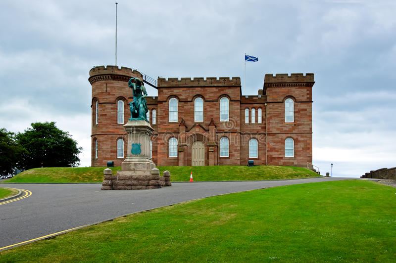 Château d'Inverness photo stock