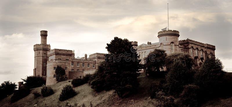 Château d'Inverness, Ecosse image libre de droits