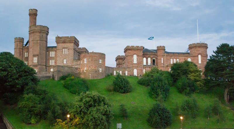 Château d'Inverness, Ecosse photos libres de droits